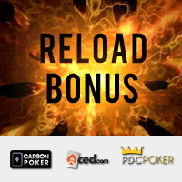 Merge Poker Reload Bonus